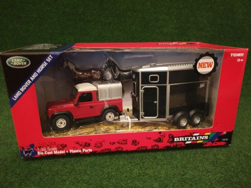 Landrover & Horse Trailer Set